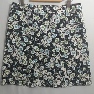 Loft Mini Skirt Size 8